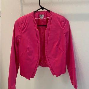 Worthington Women's fuchsia blazer